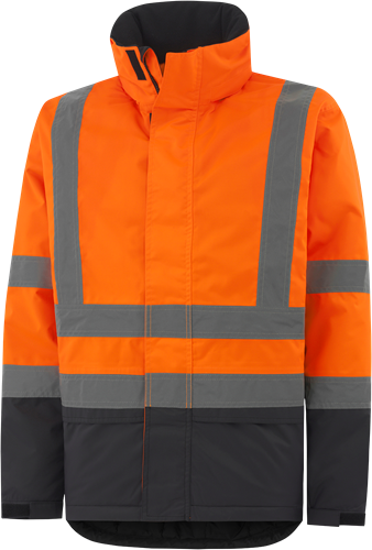 Helly Hansen 70335 Alta Insulated Hi-Vis Winterjas-Oranje-XS