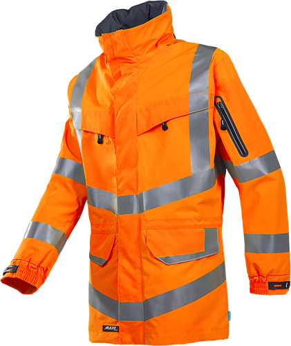 Sioen Mildura Signalisatie Regenparka-XS-Fluo Oranje