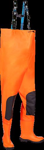 Sioen Gyleen Hoge Lieslaarzen-Fluo Oranje-V45