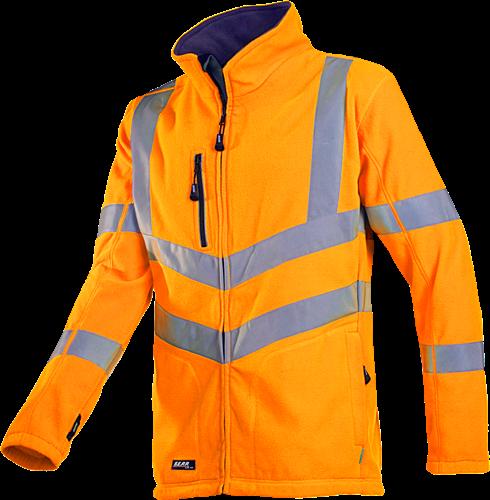 Sioen Mowett Signalisatie Fleece Jas-XS-Fluo Oranje