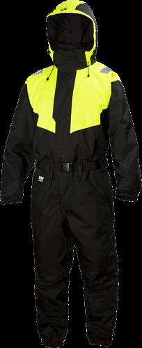 Helly Hansen 71613 Leknes Suit-38-Zwart/Geel