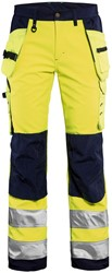 Blaklader 71672517 Dames Softshell werkbroek High Vis