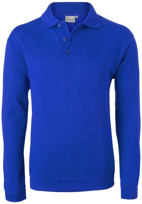Havep Basic Polo sweater-S-Korenblauw