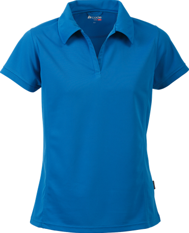 Acode Dames CoolPass poloshirt-S-Licht turquoise