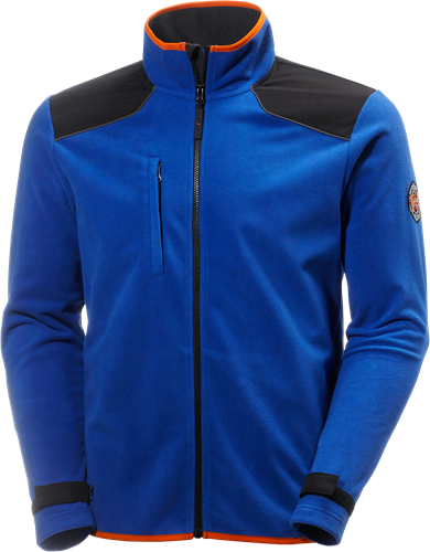 Helly Hansen 72049 Chelsea Wind Fleece-S-Kobalt/Zwart