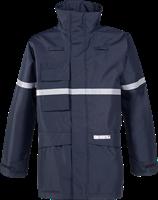 Sioen Glenroy Vlamvertragende en Antistatische Regenparka-XS-Marineblauw-1