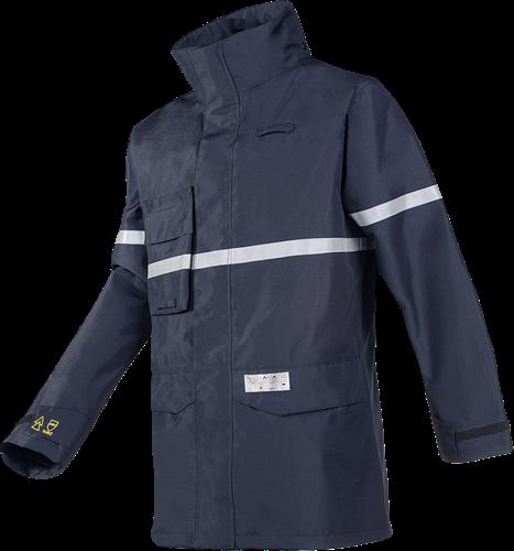 Sioen Melfort Regenjas met ARC bescherming (Kl 1)-Blauw-S