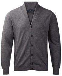 Clipper Corporate Heren vest, sjaal kraag - 154   Steen