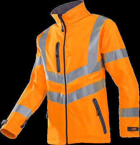 Sioen Dexter Signalisatie Softshell Jas-XS-Fluo Oranje