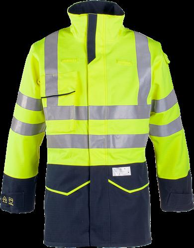 Sioen Riverton Signalisatie Regenparka met ARC bescherming-S-Fluo Geel/Marine