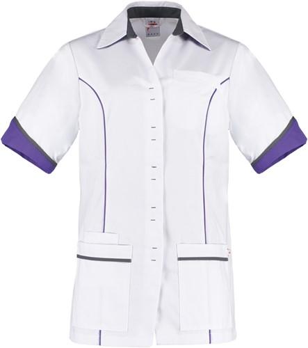 Haen Medisch Trend Line Chanel Damesjasje - Wit