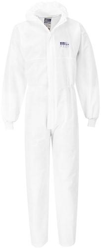 Portwest ST35 SMS Knit Cuff Coverall  (50pc)