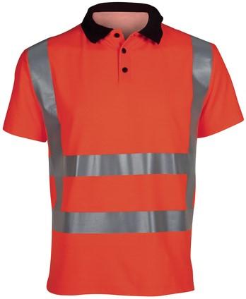 Havep High Visibility Polo RWS-S-Fluo-oranje