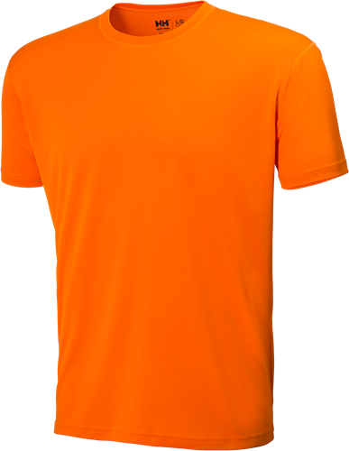 Helly Hansen 75250 Tech T-Shirt-S-Donkeroranje
