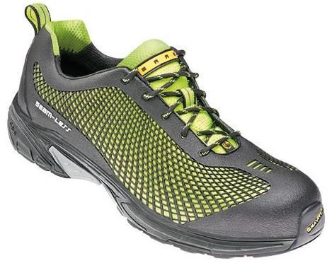 Baak Sports Exlusive Sneaker Jerry 7547 S1P - Lime/Zwart