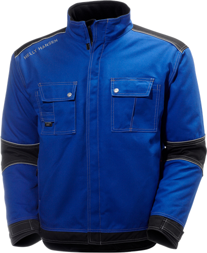Helly Hansen 76041 Chelsea Lined Jacket-S-Kobalt/Zwart
