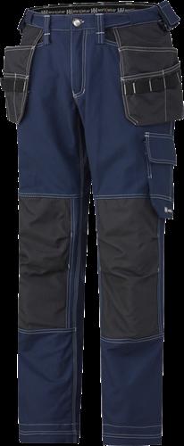 Helly Hansen 76487 Visby Constr Pants-D88-Blauw/Houtskool
