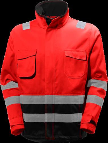 Helly Hansen 77210 Alna Jacket-S-Rood/Houtskool