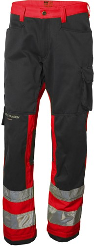 Helly Hansen 77410 Alna Pants CL 1-D88-Rood/Houtskool