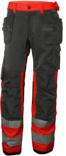 Helly Hansen 77412 Alna Cons Pants CL 1-D88-Rood/Houtskool