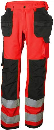 Helly Hansen 77413 Alna Cons Pants CL 2-D88-Rood/Houtskool