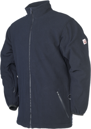 Sioen Obaix Vlamvertragende Fleece-XS-Marineblauw