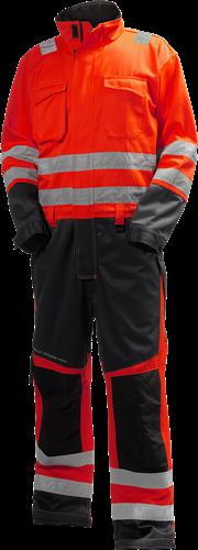 Helly Hansen 77610 Alna Suit-46-Rood/Houtskool