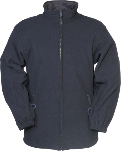 Sioen Dampremy Vlamvertragende Fleece-S-Marineblauw