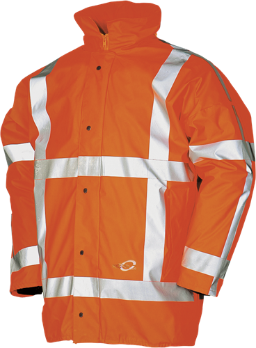 Sioen Merapi Signalisatie Winter Regenparka (RWS)-S-Fluo Oranje