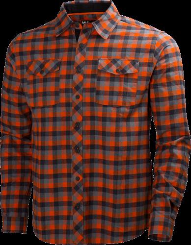 Helly Hansen 79100 Vancouver Shirt-S-Donkeroranje