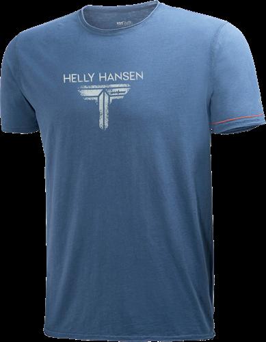 Helly Hansen 79152 Mjølnir Logo T-S-Marineblauw