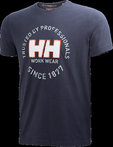 Helly Hansen 79252 Oslo T-Shirt-S-Marine
