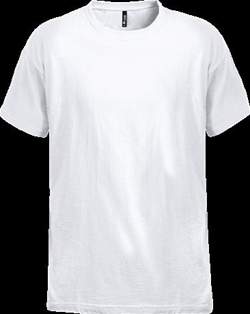 Acode Zware kwaliteit T-shirt-Wit-XS