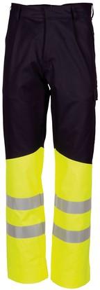 Havep Multi Protector Werkbroek-H46-Marine/fluo geel
