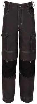 Havep Kids Kinderbroek-104-Charcoal/zwart
