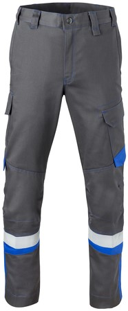 Havep 5safety Image Werkbroek-H46-Charcoal/korenblauw