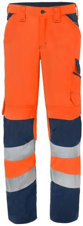 Havep High Visibility Werkbroek-46-Fluo Oranje/Marine