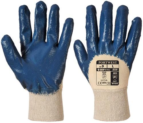 Portwest A330 Nitrile Light Knitwrist Glove
