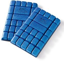 KÜBLER Kniebeschermers (1 paar) - Middenblauw