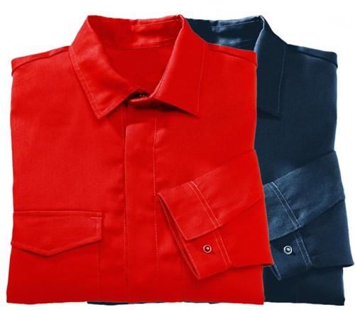 Tranemo Overhemd Vlamvertragend 812091-Rood-XS