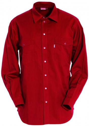 Tranemo Overhemd 813122-Rood-XS