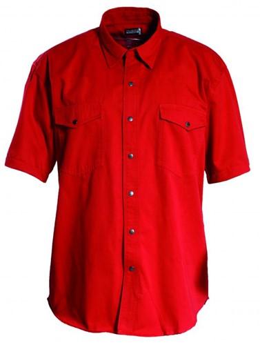 Tranemo Overhemd 814122-Rood-XS