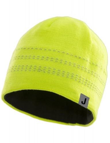 Jobman 8376 Beanie Muts high visibility geel