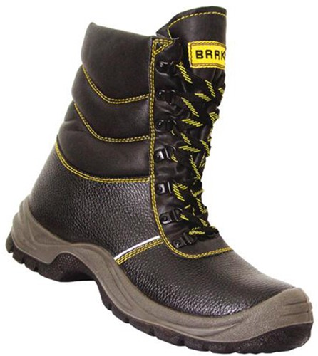 Baak Bouw Hoge Schoen Maxmillion 8502 S3 - Zwart