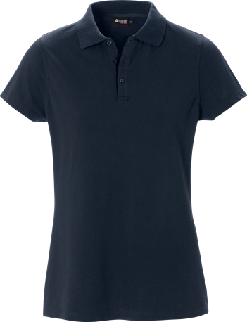 Acode Dames luxe stretchpolo-S-Donker marineblauw