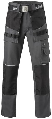 Havep Worker.pro Werkbroek-H42-Charcoal grey/zwart