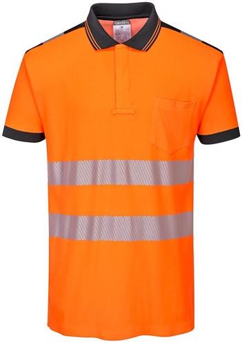 Portwest T180 PW3 Hi-Vis Polo Shirt  S/S