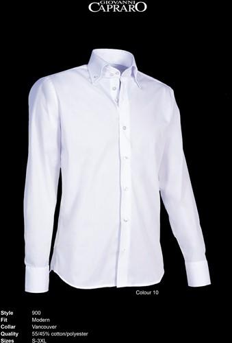 Giovanni Capraro 900-10 Overhemd - Wit