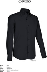 Giovanni Capraro 900-20 Overhemd - Zwart