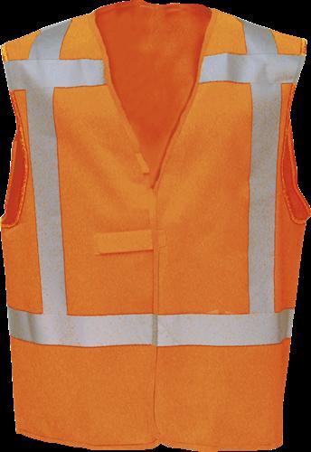 Sioen Carpi Signalisatie Gilet (RWS)-M-Fluo Oranje